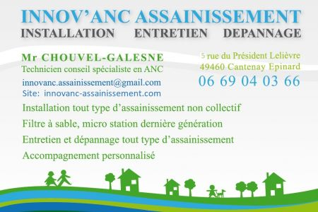 CHOUVEL Laurent - INNOV'ANC ASSAINISSEMENT