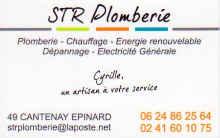 STRANSBERGER Cyrille - STR Plomberie